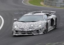 Lamborghini Aventador. È questa la versione Jota?