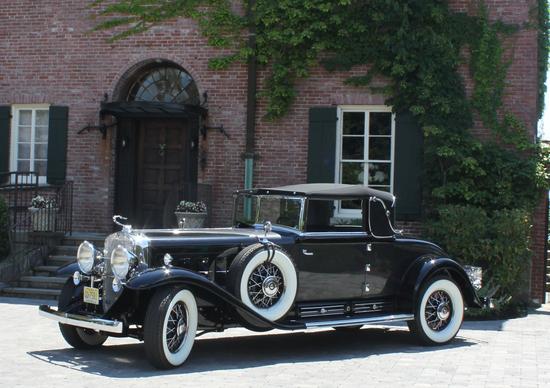 Una meravigliosa Cadillac 452 a 16 cilindri