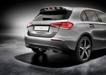 Mercedes Classe A 2018, ricca gamma accessori sportivi