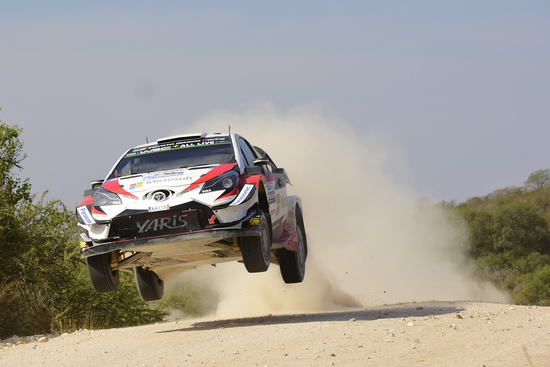 Ott Tanak sulle speciali del WRC Argentina 2018