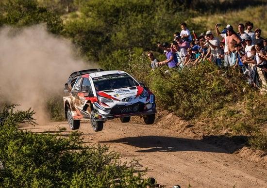 WRC18 Argentina 2a Tappa. Toyota e il numero Ottano