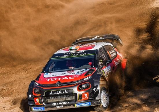 WRC 2018/Citroen. Argentina 2. Meeke Terzo… fino a un attimo dalla fine
