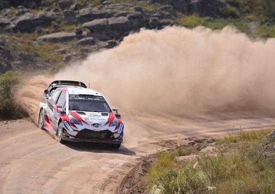 WRC18 Argentina. Ott Tanak e Toyota, ora è affar serio