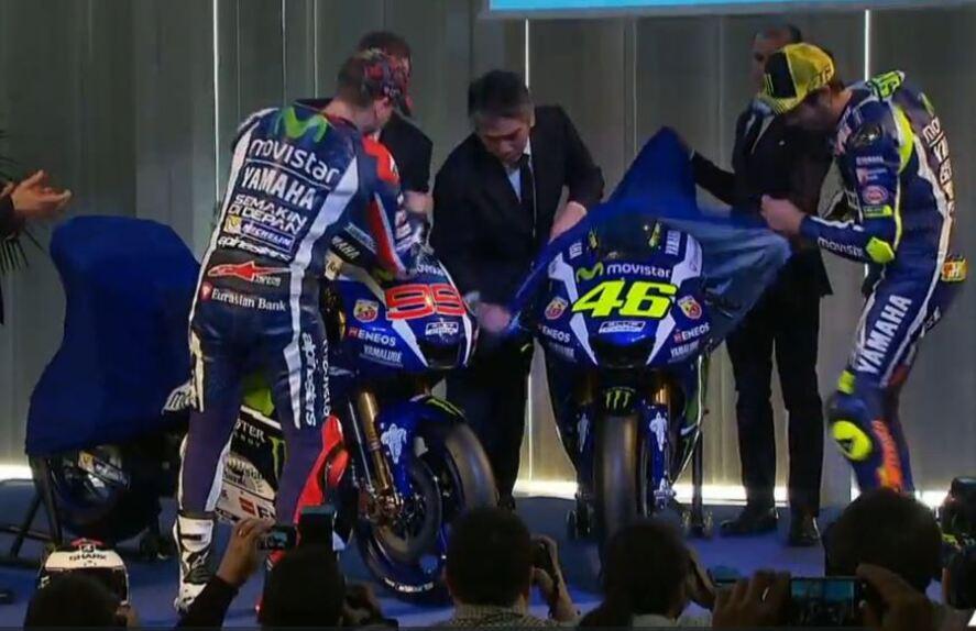 La presentazione del team Yamaha MotoGP e della nuova M1 (4)