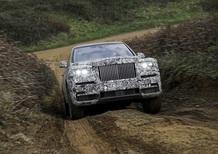 Rolls-Royce Cullinan, il 10 maggio il debutto ufficiale