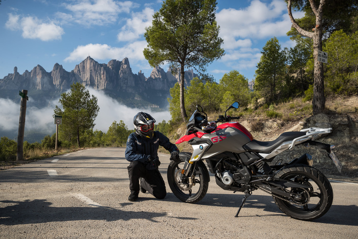 Il team guiderà tre BMW G310GS