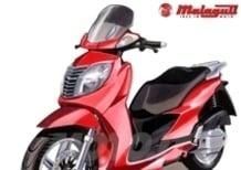 Nuovo Password CK 250 cc, scooter a ruota alta con prestazioni da maxi