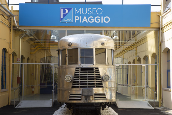 Museo Piaggio, l'ingresso