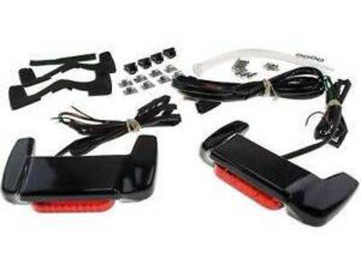 Red LED Tail Brake Light Spoiler prime- 58606-99 Harley-Davidson - Annuncio 7168307