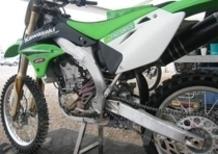 Kawasaki prova a Mantova il nuovo sistema Kayaba