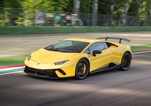 Lamborghini Huracán Performante: in pista o al simulatore è sempre...fotonica! [Video]