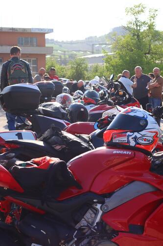 Suomy e Dovizioso da Ducati Brothers Moto Ancona (7)