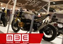 Motor Bike Expo 2016: BMW con la NineT scrambler e otto special d'autore