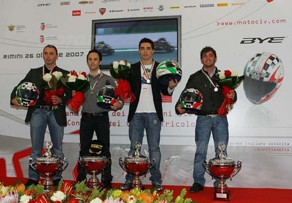 da sinistra Borciani, Roccoli, Pirro, Lacalendola