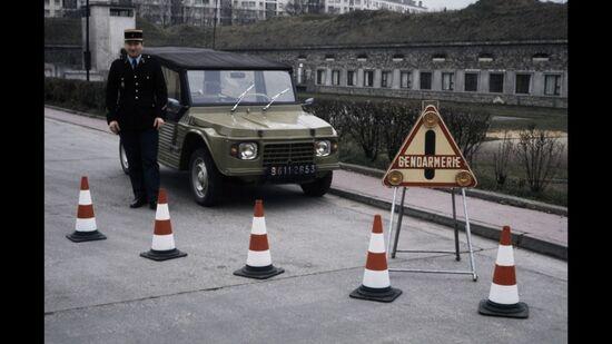 La Méhari in dotazione alla Gendarmerie francese