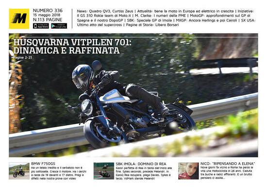 Magazine n° 336, scarica e leggi il meglio di Moto.it