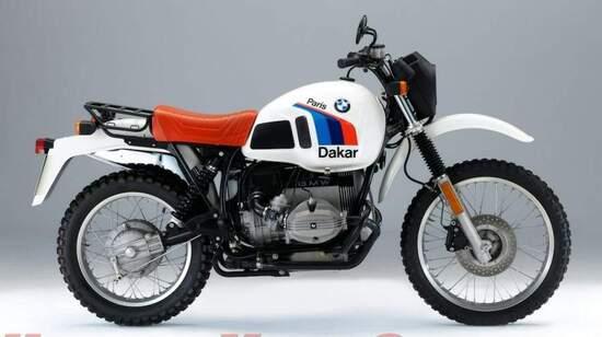 Nel 1980 la BMW ha adottato la sospensione posteriore a braccio oscillante singolo, denominata Monolever, sulla R 80 G/S (qui la successiva versione Paris-Dakar), che ha aperto l'era delle enduro di grossa cilindrata