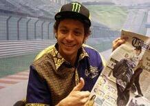 Valentino Rossi in tour in Indonesia