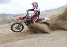 Merriman in Grecia prepara l'assalto alla Six Days. Debutto vincente per l'Aprilia RXV 2009 con Pass