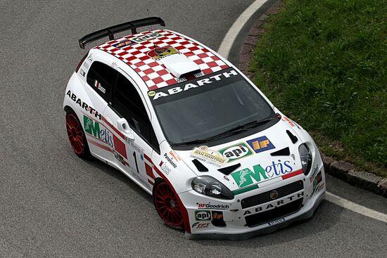 La Abarth Grande Punto S2000 di Giandomenico Basso nel 2007