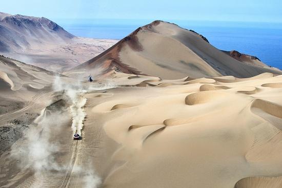 Suggestive immagini peruviane della scorsa edizione della Dakar