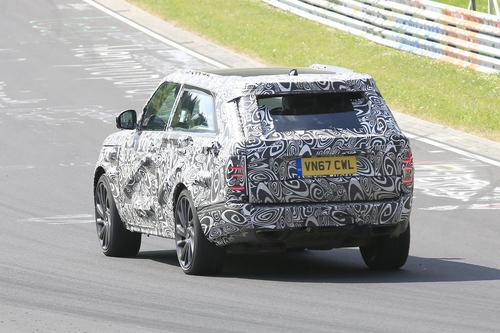 Range Rover SV Coupé, le foto spia (6)