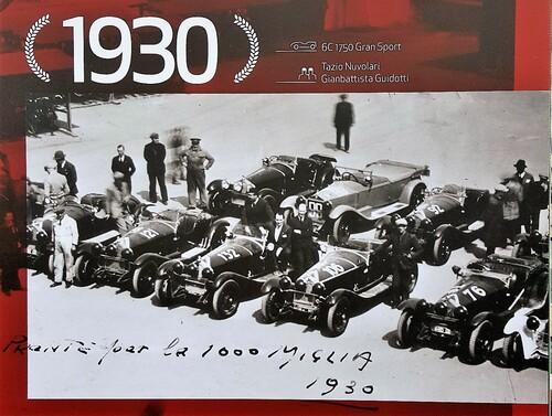 Mille Miglia 2018: trionfo Alfa Romeo con onore al Museo storico di Arese [video] (7)