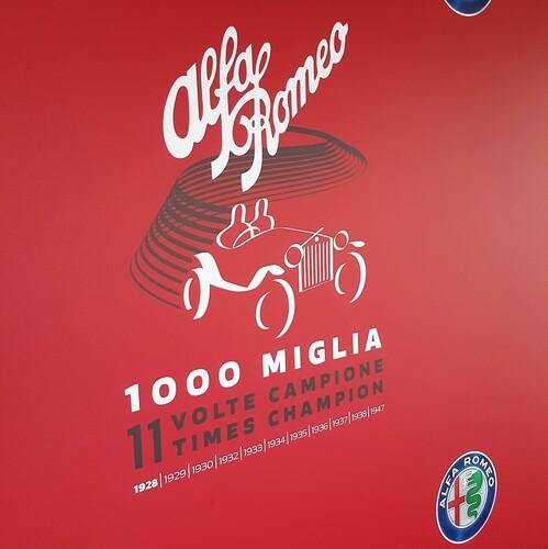 Mille Miglia 2018: trionfo Alfa Romeo con onore al Museo storico di Arese [video] (8)