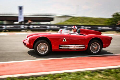 I piloti Alfa Romeo Sauber F1 al museo storico di Arese [video] (6)