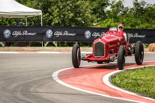 I piloti Alfa Romeo Sauber F1 al museo storico di Arese [video] (8)