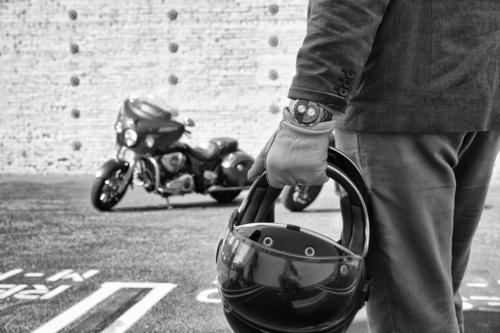 Baume & Mercier e Indian Motorcycle, una giornata in circuito a Vairano per celebrare la partnership (6)