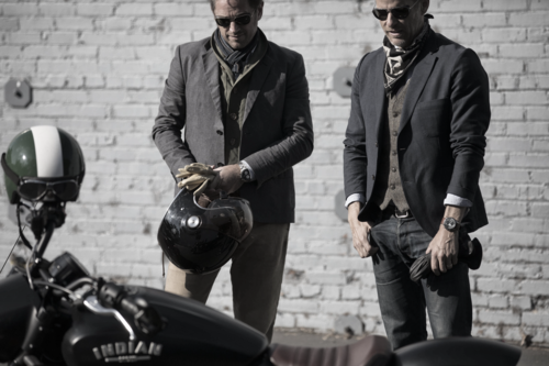 Baume & Mercier e Indian Motorcycle, una giornata in circuito a Vairano per celebrare la partnership (7)