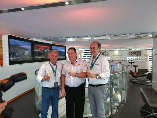 Rinnovo Sparco McLaren in quel di Monaco