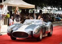 Concorso Eleganza Villa d'Este 2018: premiato il rosso Ferrari [video]