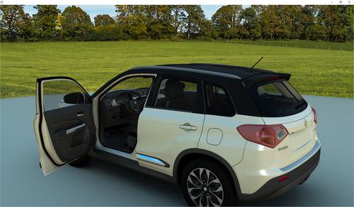 In arrivo il nuovo simulatore Suzuki: percezione di tutte le varianti possibili (4)