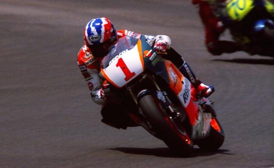 Doohan con la Honda NSR nella seconda metà degli anni 90