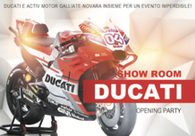 Ducati: Activ Motor apre a Galliate. Festa il 9/10 giugno
