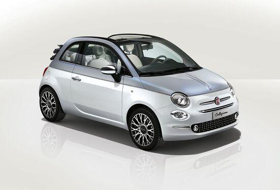 Per la Fiat 500 si prospetta un futuro elettrico. E' stata sinora prodotta in 2 milioni di esemplari