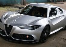 Alfa Romeo 4C Mole Costruzione Artigianale 001 by Up Design [Video]