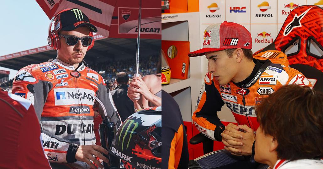 MotoGP: Jorge Lorenzo in Honda HRC con Márquez. E' ufficiale