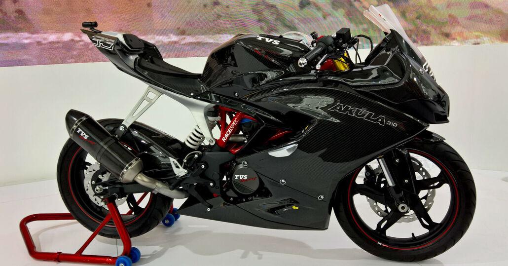 TVS Akula 310, il concept dalla BMW G 310 R