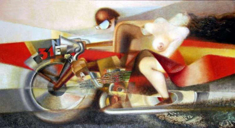 Le moto e l'arte: la pittura