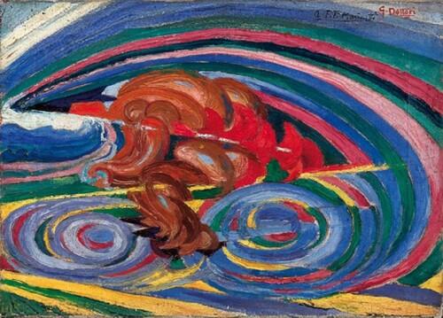 Le moto e l'arte: la pittura (4)
