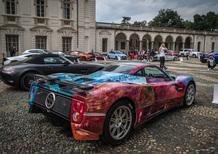 Foglizzo Leather al Salone Auto di Torino con Ferrari GTC4 Azzurra e Touring Sciàdipersia  [video]