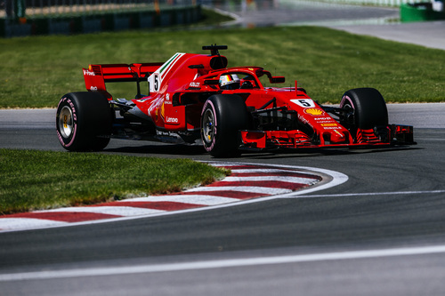 F1, GP Canada 2018: vince Vettel
