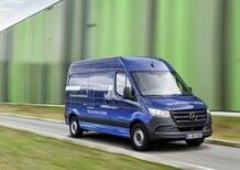 Mercedes-Benz nuovo Sprinter: connesso, interattivo e anche elettrico