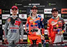 MX 2018, GP di Francia. Le dichiarazioni dal podio
