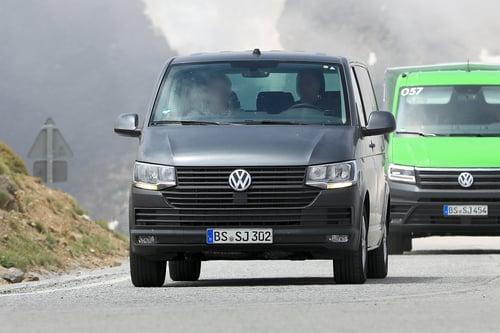 Volkswagen T7: ecco i muletti in strada (2)