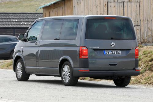 Volkswagen T7: ecco i muletti in strada (5)