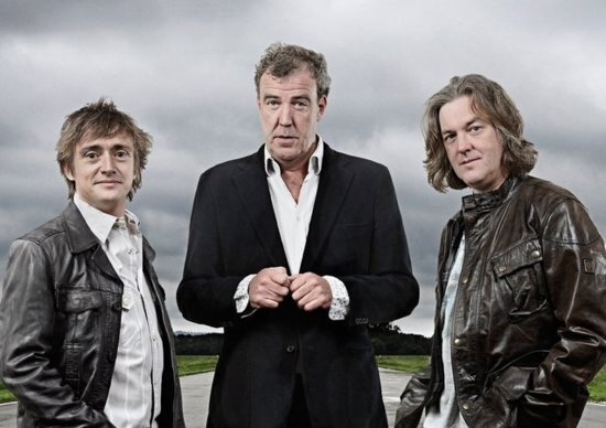 Richard Hammond, Jeremy Clarkson e James May